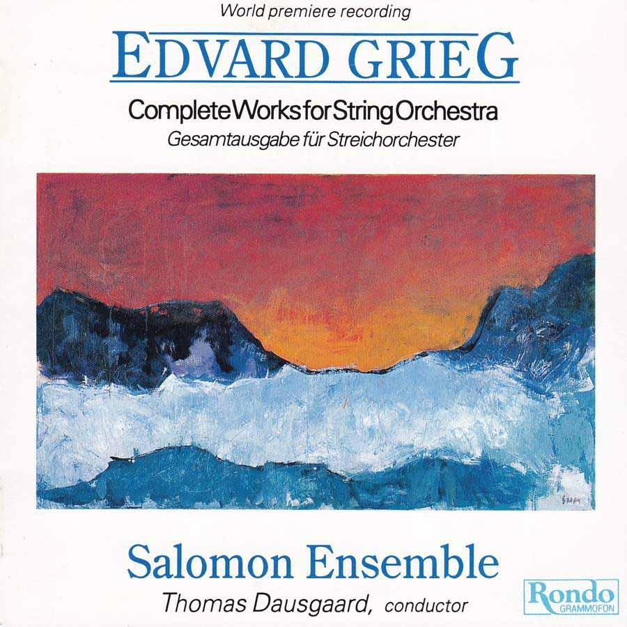 Grieg :Complete Works for String Orchestra – Gesamtausgabe Für Streichorchester